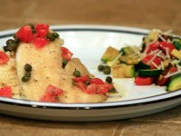 Tilapia with White Wine & Capers