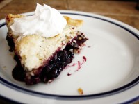 Mammie's Blueberry Pie