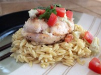 Bahia-style Chicken with Orzo