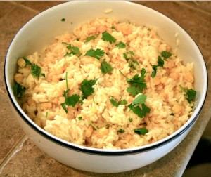 Gingered-Corn-Rice-Pilaf