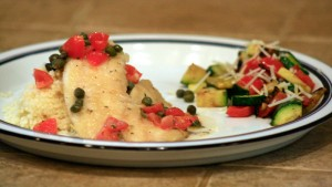Tilapia-with-White-Wine-Capers