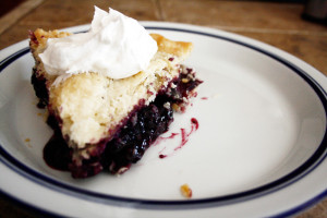 Mammies Blueberry Pie
